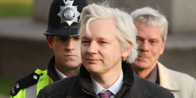 Wikileaks Gründer Julian Assange (AP Photo / John Stillwell, POOL)
