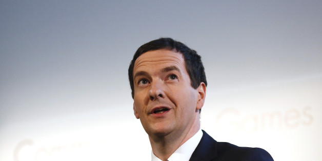 George Osborne, U.K. chancellor of the exchequer, speaks during the Commonwealth Games Business Conference in Glasgow, U.K., on Tuesday, July 22, 2014. Scotland holds a referendum on Sept. 18, with the main political parties in London united in their opposition to the nationalists led by Scottish First Minister Alex Salmond. Photographer: Simon Dawson/Bloomberg via Getty Images