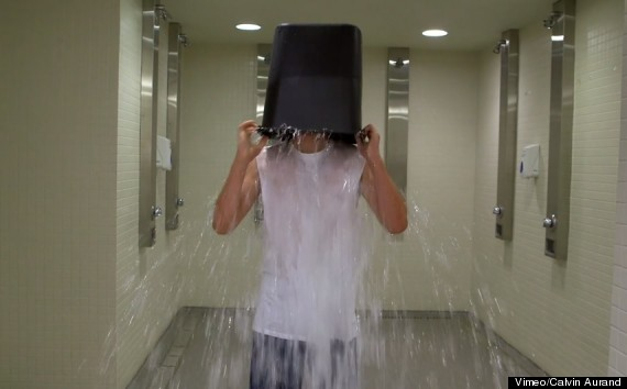 One Direction's Niall Horan Takes On The ALS Ice Bucket Challenge (VIDEO)