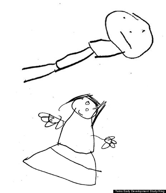 How The Quality Of Your Childs Stick Drawings Are Linked To