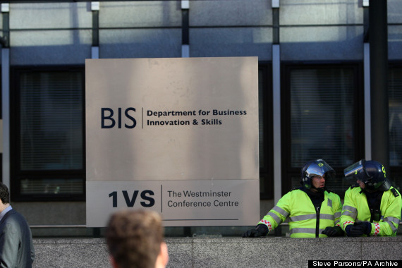 department for business innovation and skills sign