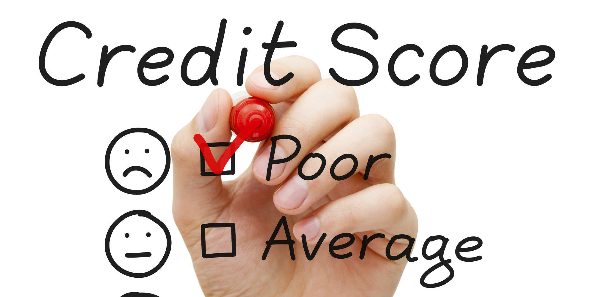 How to Survive Life with a Poor Credit Rating?