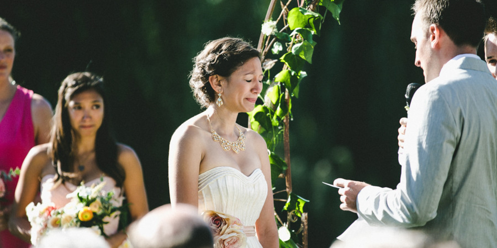 The Emotional Moment That Brought This Bride And Everyone Else To Tears