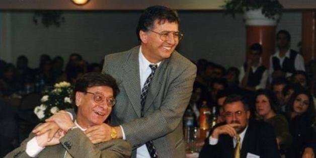 Samih Al-Qasim avec Mahmoud Darwich