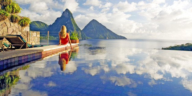 Jade Mountain hotel, Saint Lucia