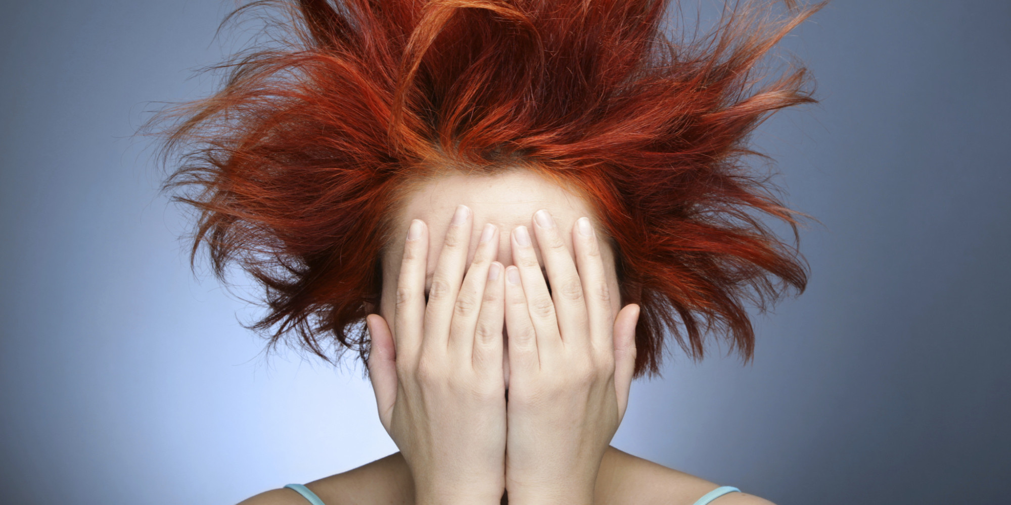 Фото стрижек рыжих девушек со спины