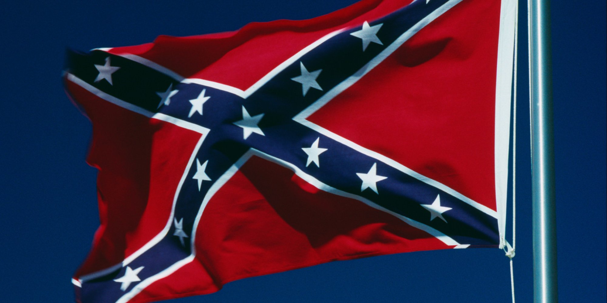 No you need a history lesson the confederate flag is a symbol of hate huffpost