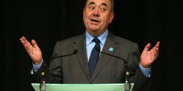 File photo dated 15/08/14 of Alex Salmond who has said Scotland would be the wealthiest country in the world to become independent if there is a Yes vote in four weeks' time.
