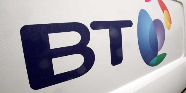 Undated file photo of a British Telecom van. BT claimed its Premier League offering was helping it win its battle with Sky today as it grew broadband and TV revenues by a quarter.