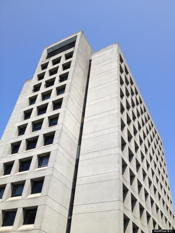 ubc buchanan tower