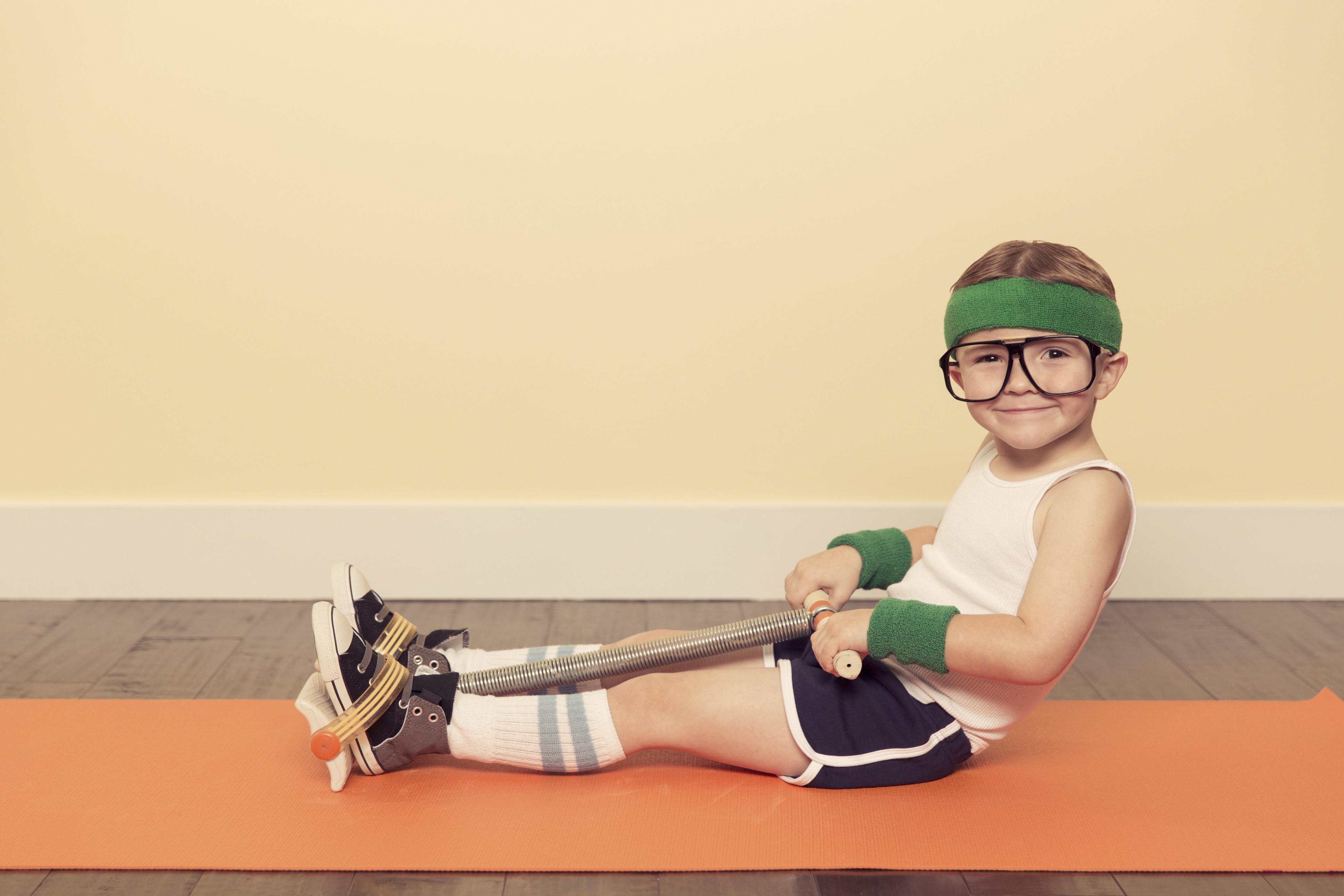 vintage sport children