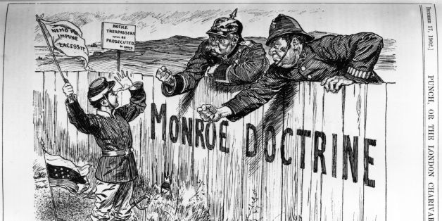 should washington consider accepting a chinese monroe doctrine