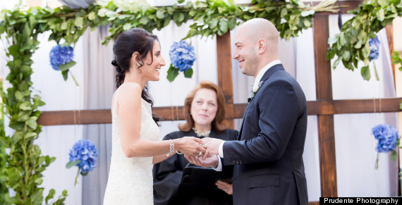 boston marathon wedding