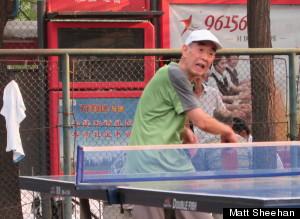 old liu ping pong beijing
