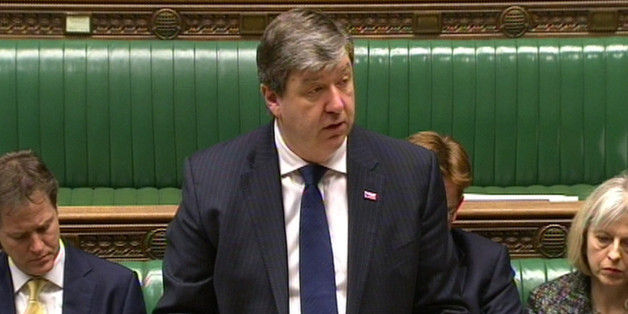 Secretary of State for Scotland Alistair Carmichael makes a statement about the police helicopter crash in Glasgow at the House of Commons, London.