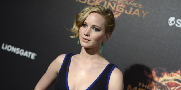 Jennifer Lawrence seen at the Hunger Games: Mockingjay - Part 1 party at the 67th international film festival, Cannes, southern France, Saturday, May 17, 2014. (Photo by Arthur Mola/Invision/AP)