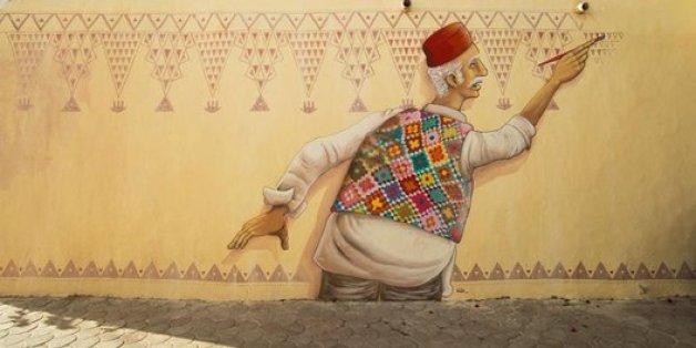 Djerbahood: Quand le street-art réveille une bourgade tunisienne endormie