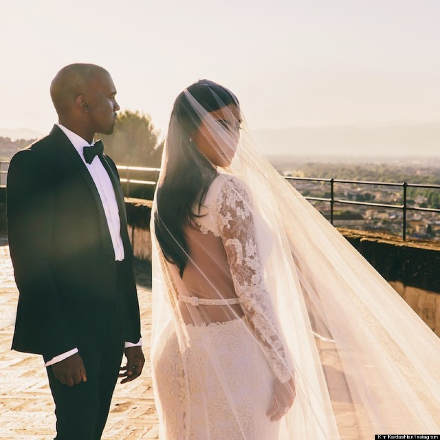 Kim Kardashian And Kanye West S Wedding Photos