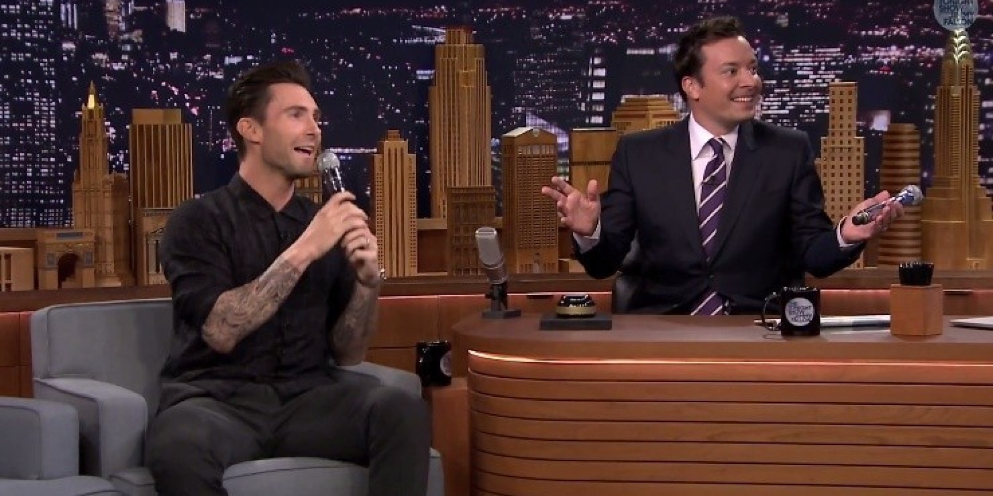 Wheel of Musical Impressions with Adam Levine ...