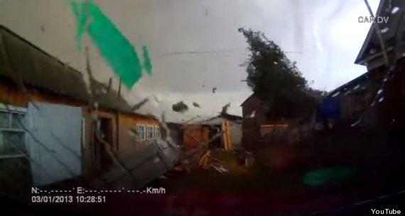 tornado dash cam