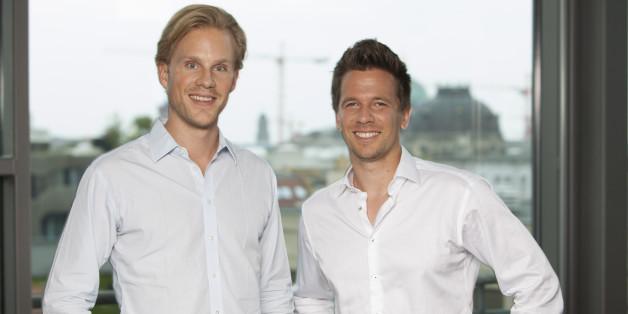 Die Spotcap-Gründer Toby Triebel und Jens Woloszczak