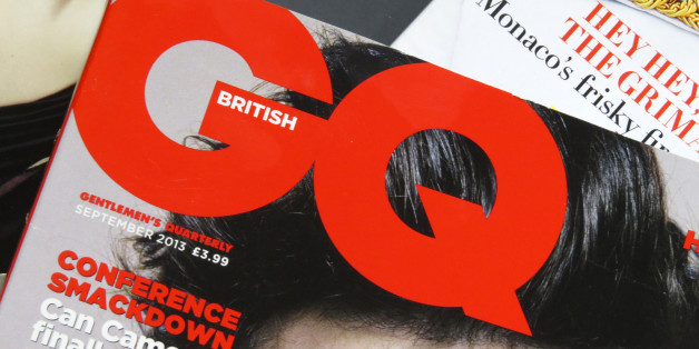 General view of a selection of fashion magazines.
