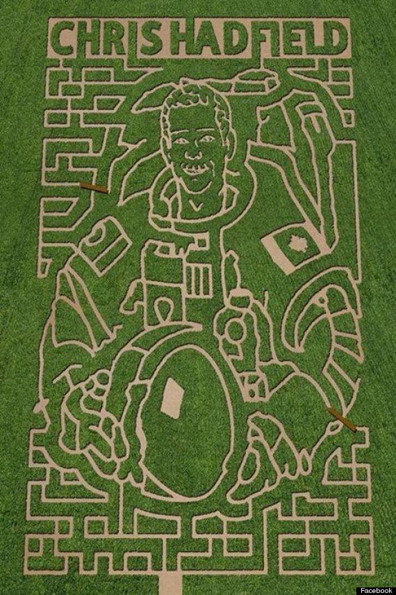 chris hadfield maze