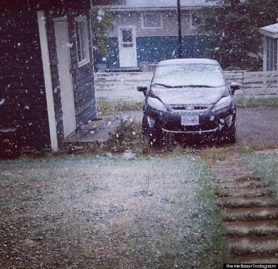 fort st john snow