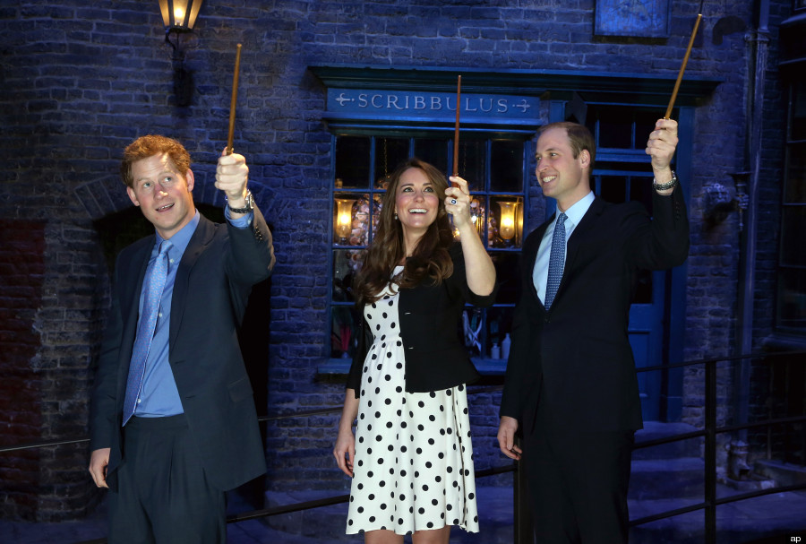 kate middleton harry potter