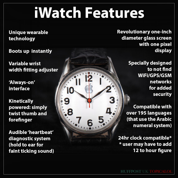 apple iwatch spoof