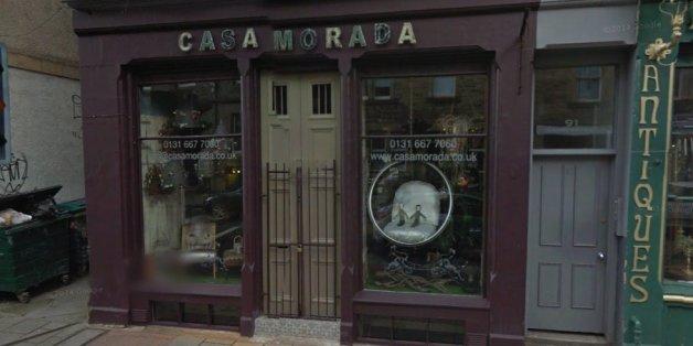 The small design shop in Edinburgh
