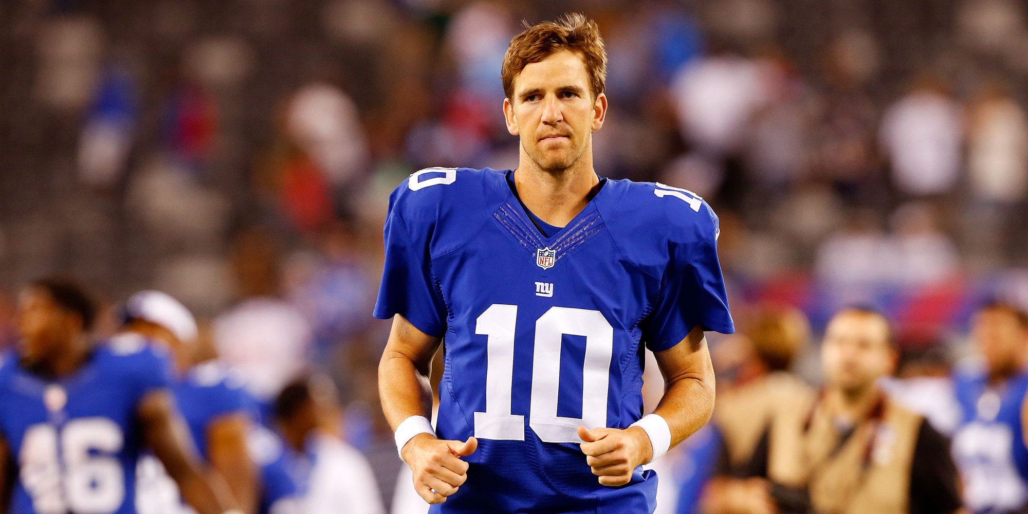 This Giants Fan Is Already Burning His Eli Manning Jersey