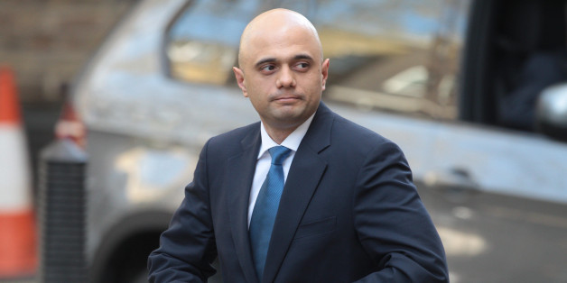 The new Culture Secretary Sajid Javid pictured in Downing Street today. He replaces Maria Miller who resigned from the post after an expenses row.