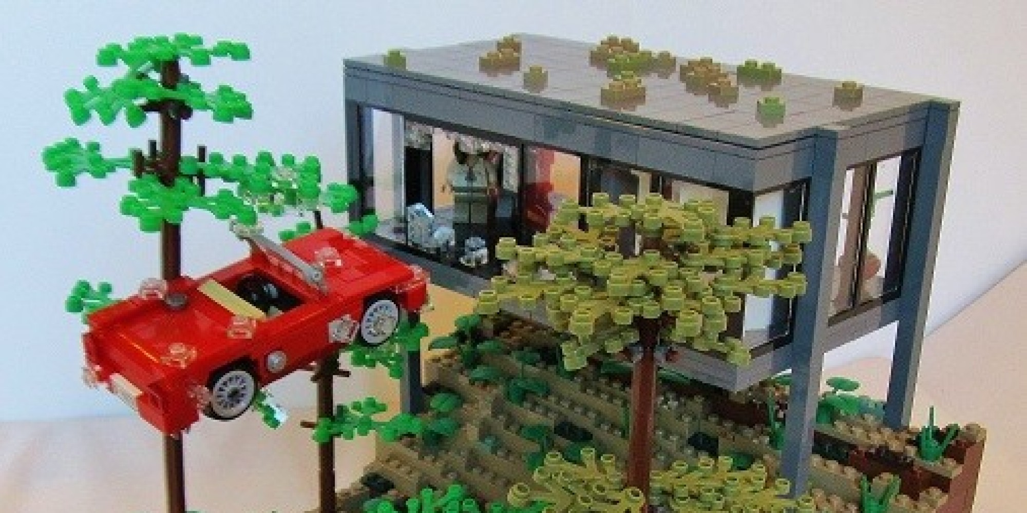 Grown Ups Use Legos To Re Create Famous Movie Scenes That