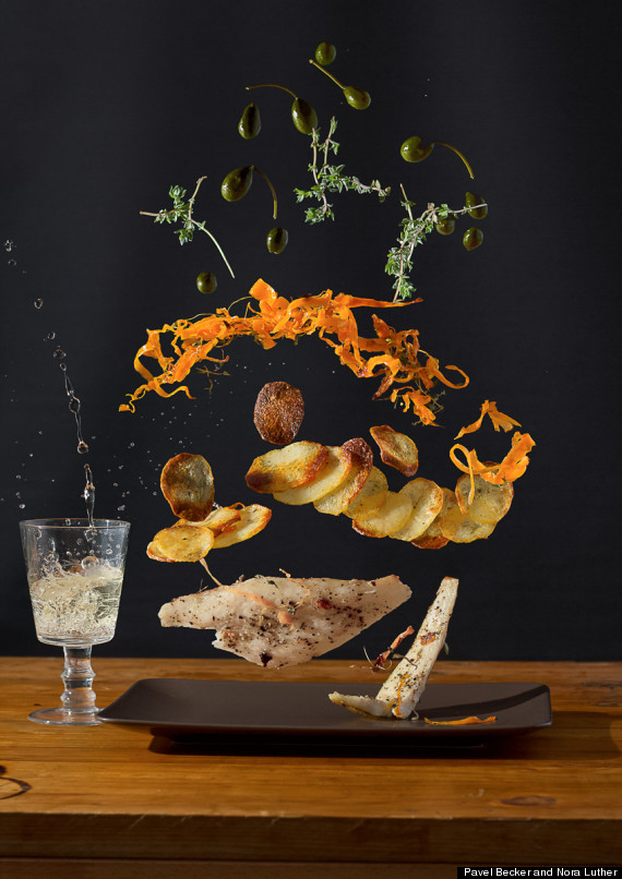 Food Porn At Its Finest: Designer Teams Up With Photographer To Create Delicious Art