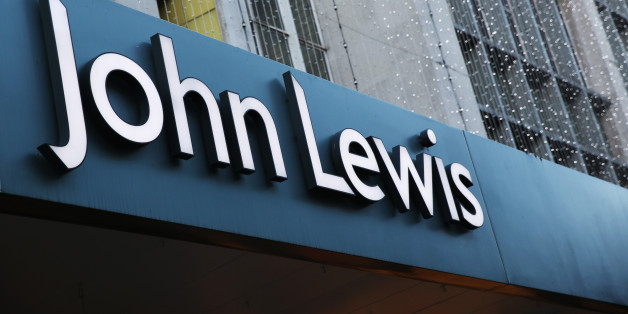 LONDON, UNITED KINGDOM - JANUARY 02:  The sign for the flagship branch of the John Lewis department store in Oxford Street on January 2, 2014 in London, England. Department stores House of Fraser and John Lewis have announced they experienced good trading over Christmas while shares in Debenhams have fallen following the company's poor sales during the same period.  (Photo by Oli Scarff/Getty Images)