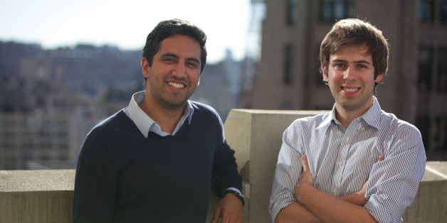 Handybook co-founders Oisin Hanrahan (right) and co-Founder Umang Dua