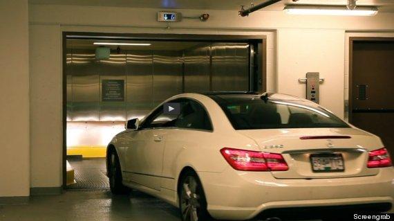 victoria car elevator