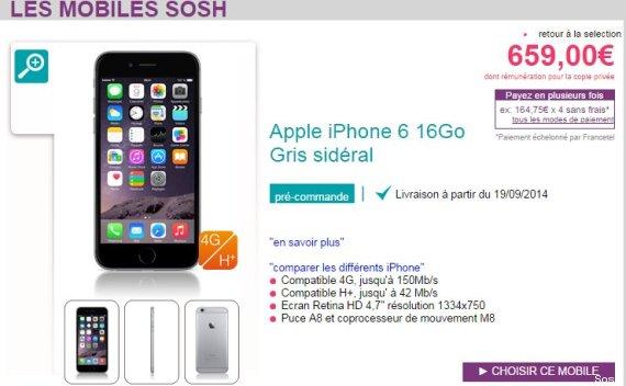 iphone 6 les prix avec forfaits chez orange sfr free bouygues telecom le huffington post