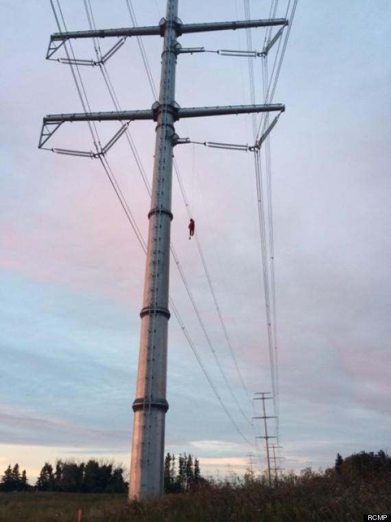 dummy power line