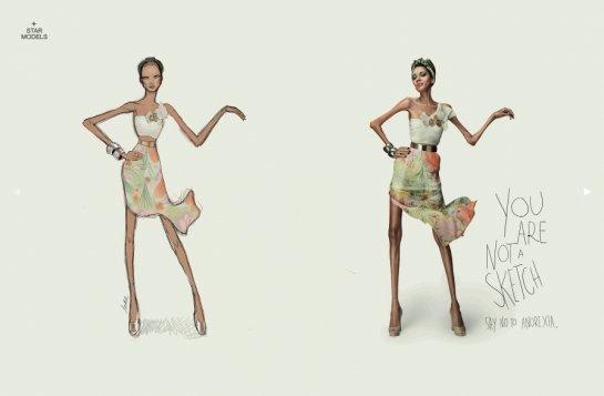 dessin mode