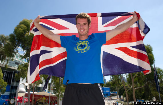 andy murray flag