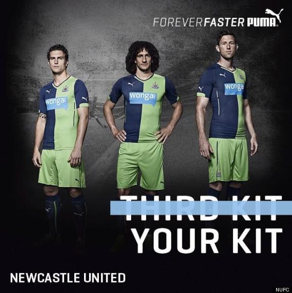 newcastle puma third kit