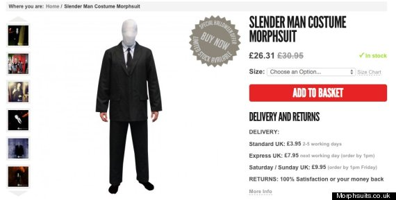 slender man outfit