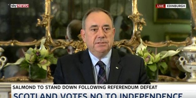 Alex Salmond Resigns: Watch The First Minister's Top Ten Moments