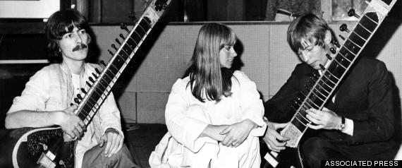 beatles india 1968