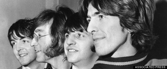 john paul george ringo 1968