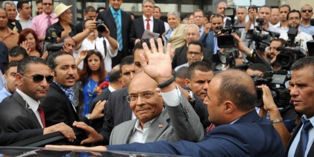 Moncef Marzouki le 20 septembre 2014 à Tunis