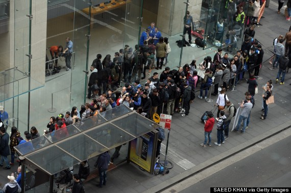 iphone 6 queue