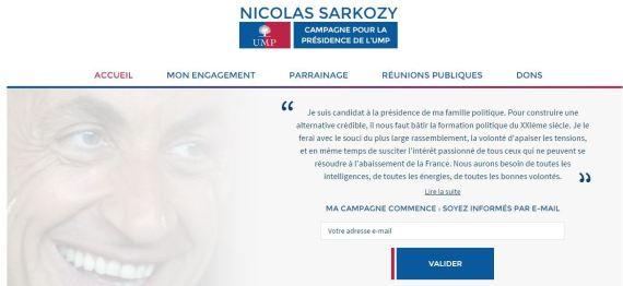 nicolas sarkozy site officiel